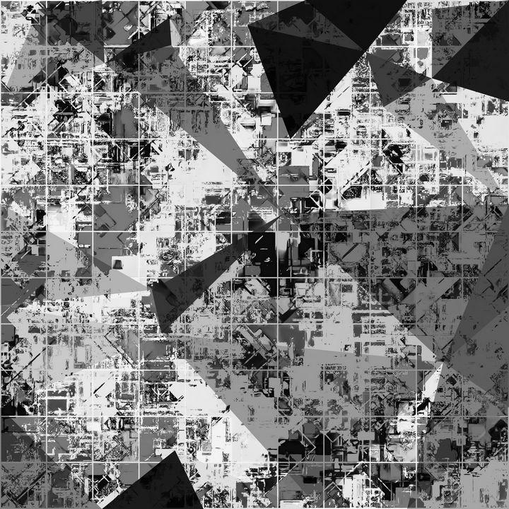 psychedelic geometric triangle shape - TimmyLA