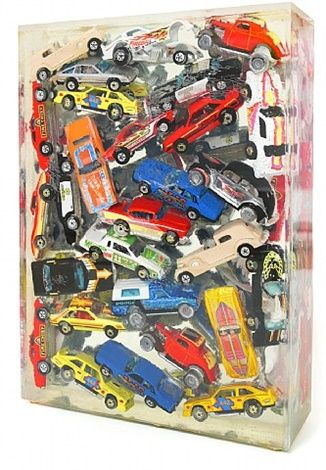 Car Accumulation by Arman - Art Collection