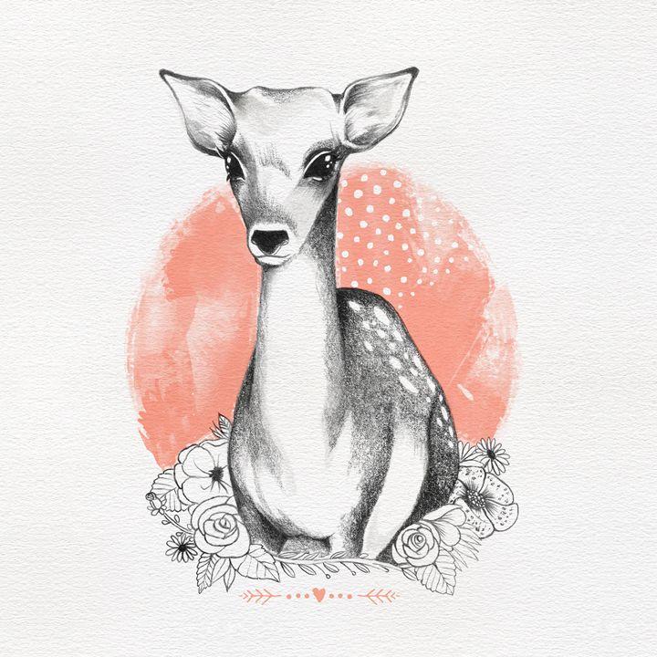 Oh deer - Sol Fortuny