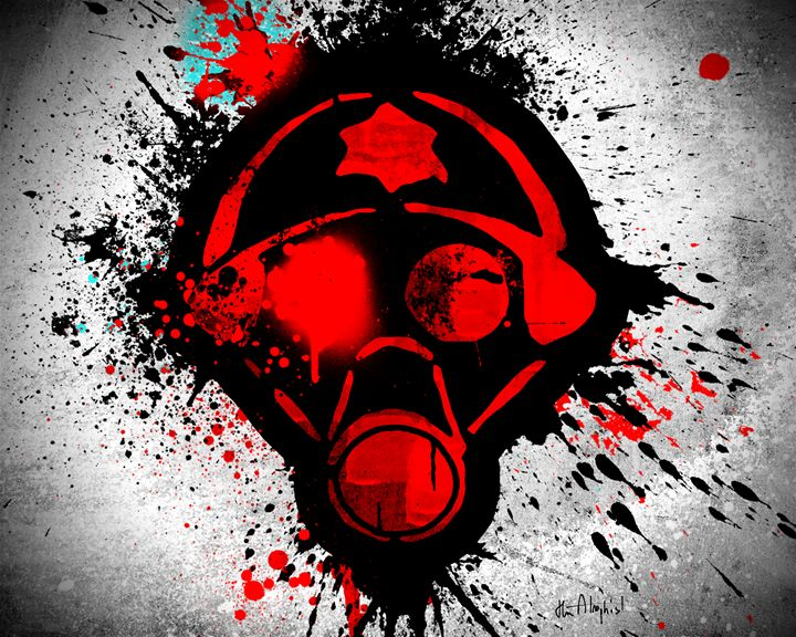 Splatter Mask - The Atrophist