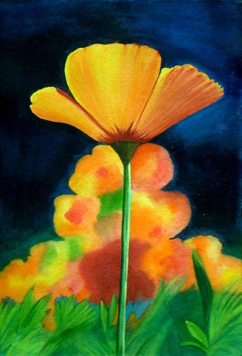 Floral Beauty- Original Painting - neeruart