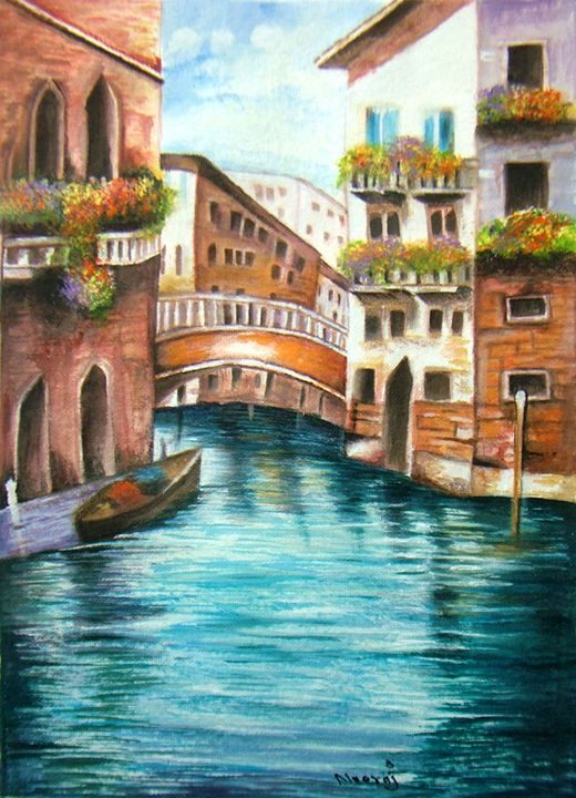 Paradise Original Painting - neeruart