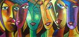 Original acrylic painting on canvas