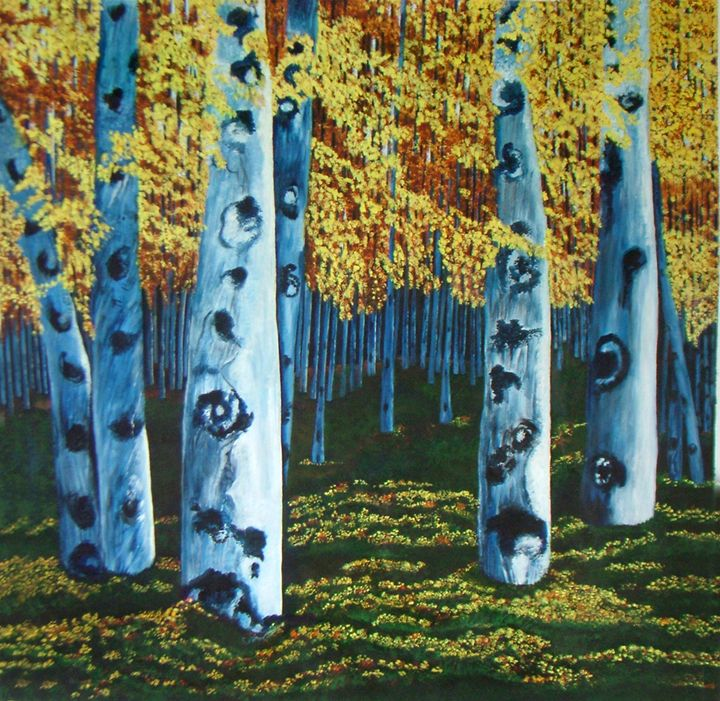 Waves of Silence- Original Painting - neeruart