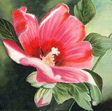 Flower painting. Original artwork
