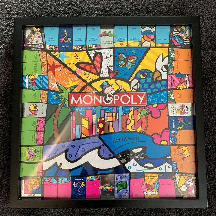 MONOPOLY®  MIAMI EDITION - Hamer Fine Arts