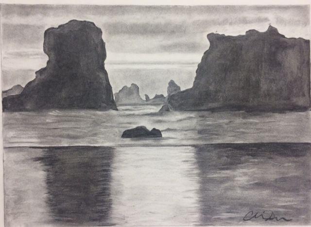Ocean storm - Art By Alisha Seymour