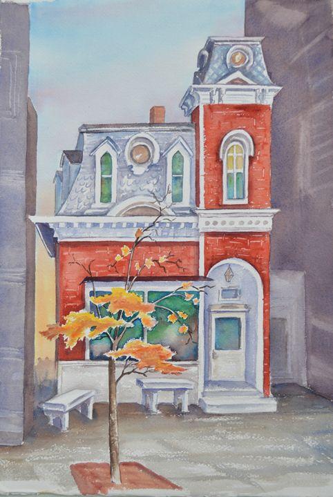 Senior Center, Barre, VT - Ruth Stephen's Watercolor