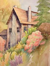 Ruth Stephen's Watercolor