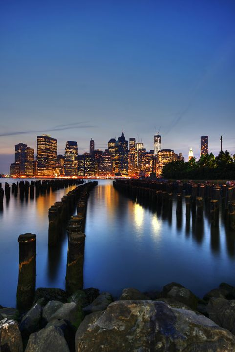 Blue Manhattan - Andrew Paranavitana Photography