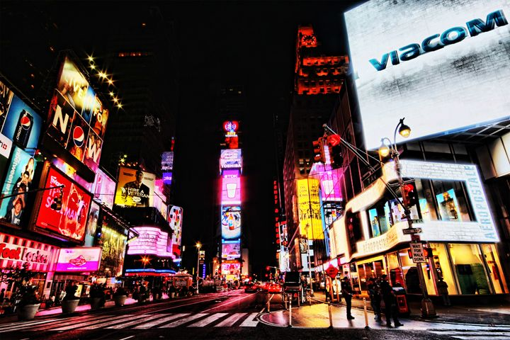 Times Square - Andrew Paranavitana Photography