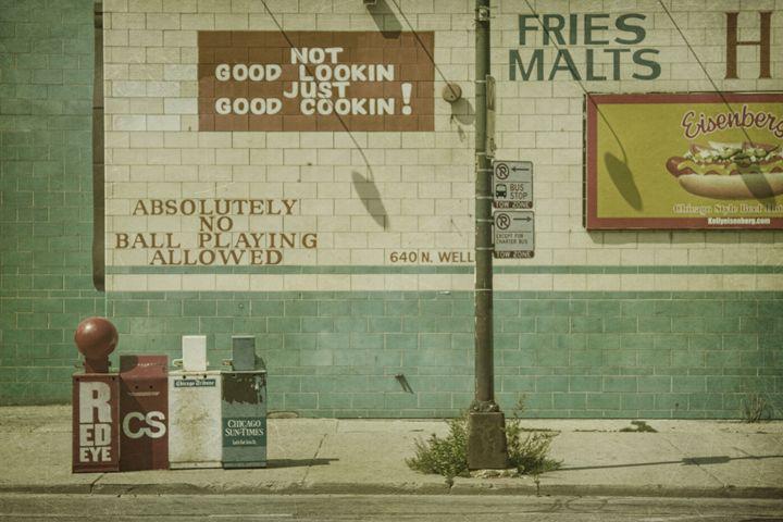 Diner Rules - Andrew Paranavitana Photography