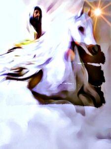 Jesus on Horseback