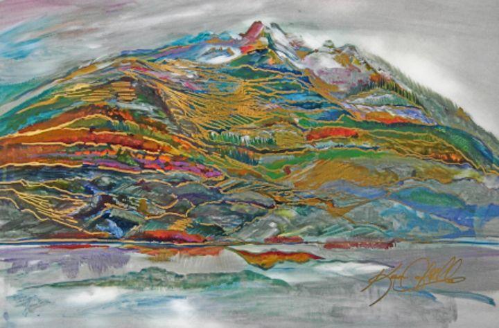Cheam Peak Chilliwack - Karen Colville Nature Art