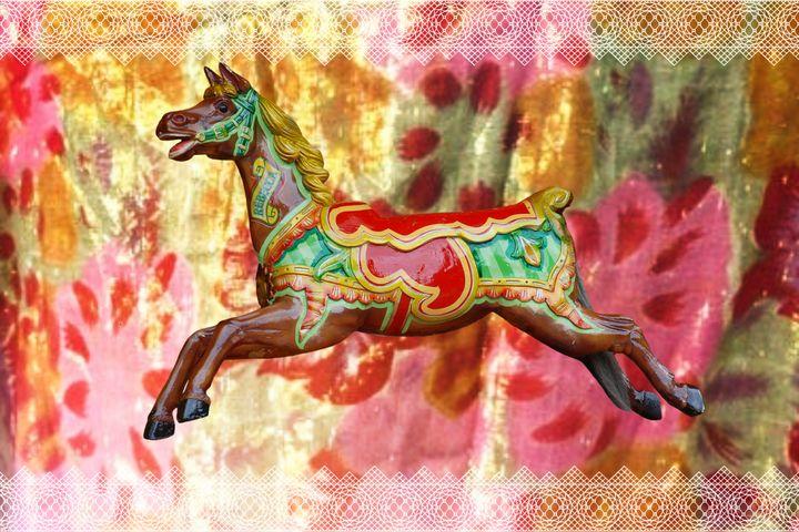 Carousel Pastel - Karen Colville Nature Art