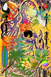 Tropicale - Karen Colville Nature Art