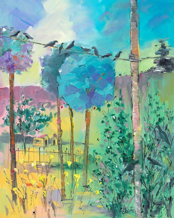 A Storm Approaching - Joan Roberts