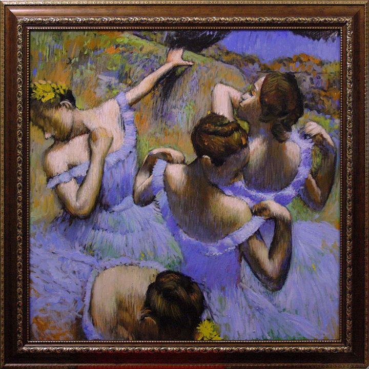 Danseuses bleues - Max Plotnikov
