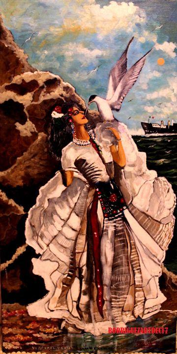 Veracruzana dancer - RodriguezArt