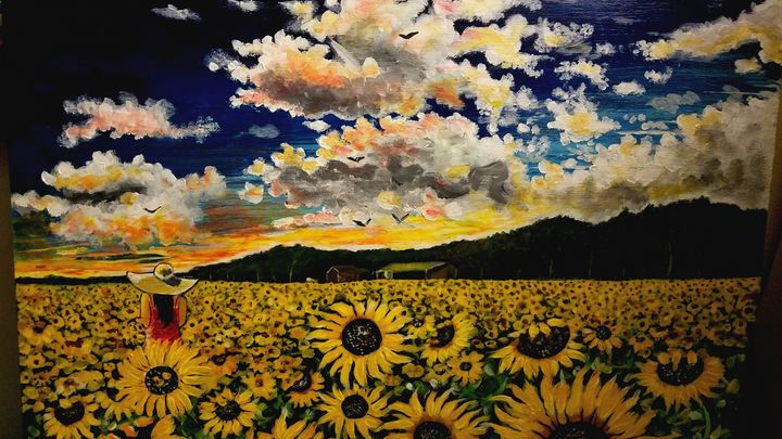 Sunflowers field - RodriguezArt