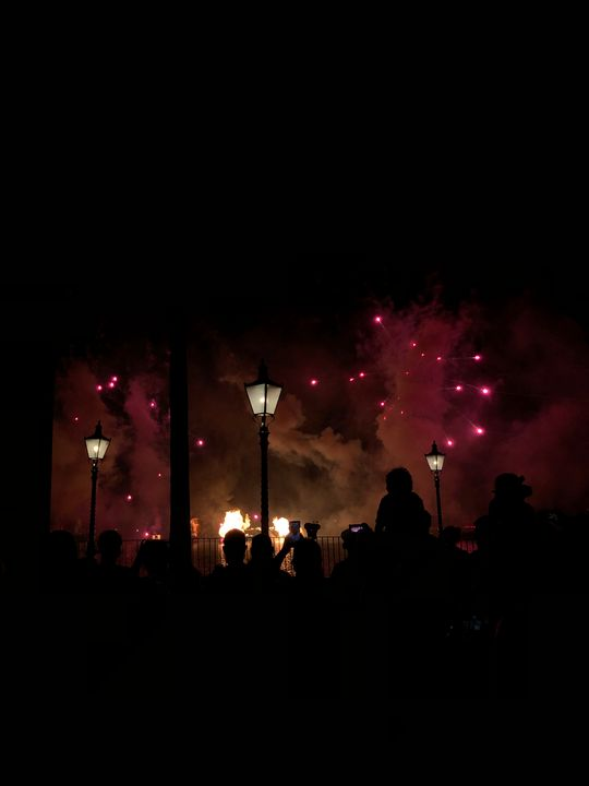Disney, Flames. - Henry H. Johnston