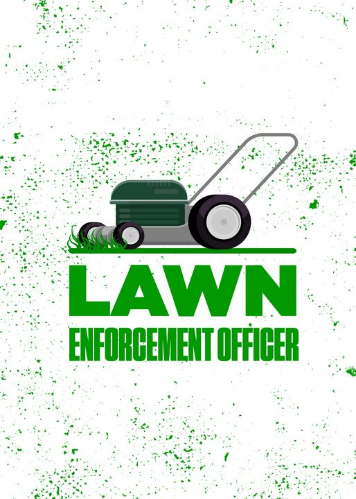 Lawn Enforcement Officer With Mover - Viper Visuals