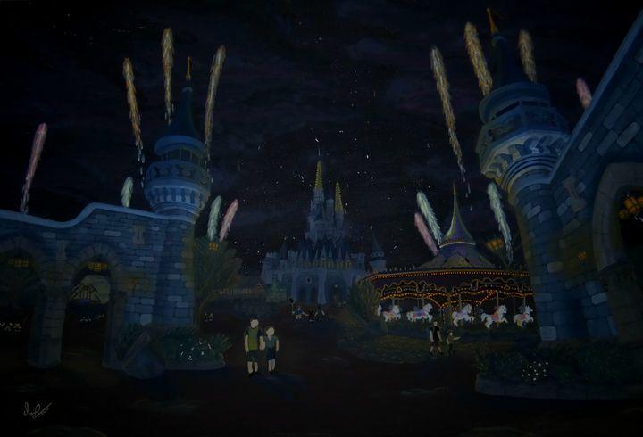 Night Time Fantasy - MaximeWDW