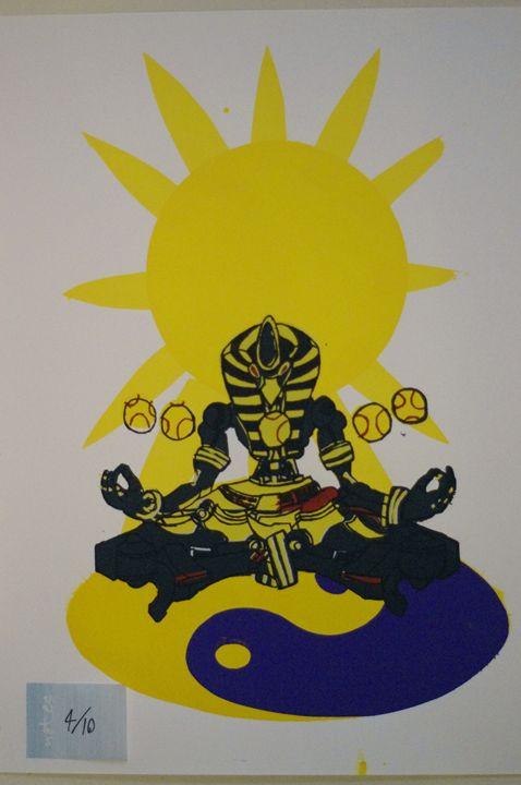Sunyatta 4/10 - JSG printmaking