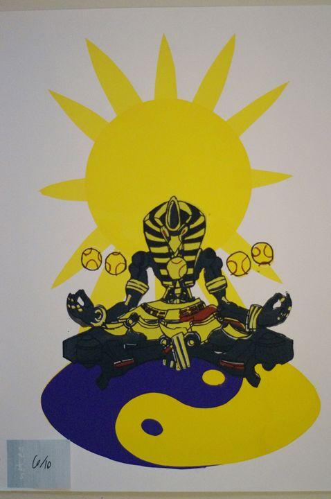 Sunyatta 6/10 - JSG printmaking