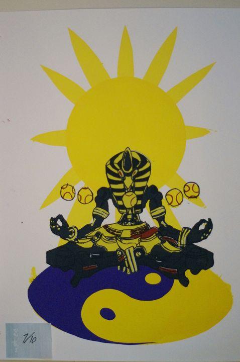 Sunyatta 7/10 - JSG printmaking