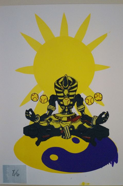 Sunyatta 8/10 - JSG printmaking