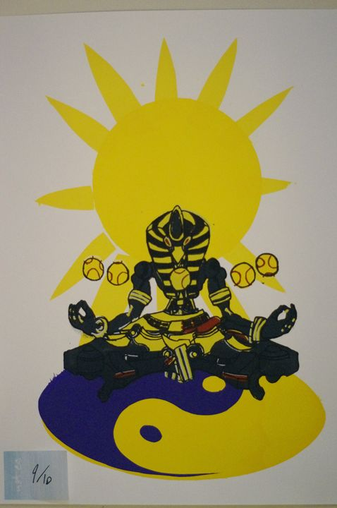 Sunyatta 9/10 - JSG printmaking