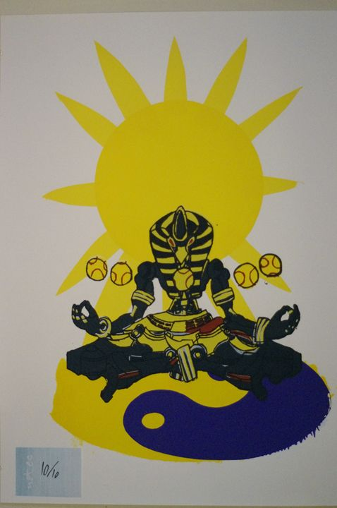 Sunyatta 10/10 - JSG printmaking