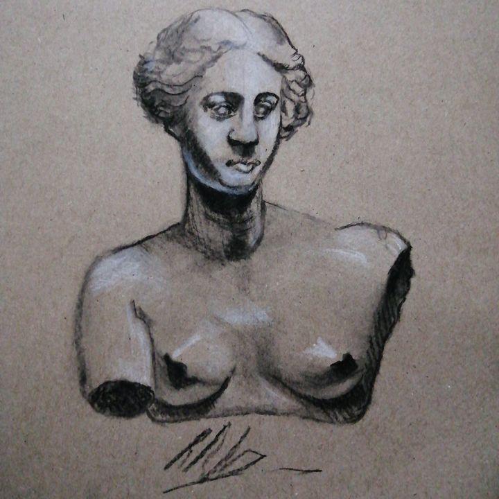 Bust of Aphrodite - Reuben Javier Allen