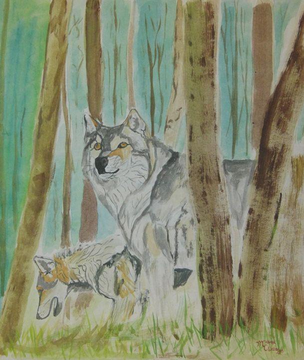 Grey Wolf - Clinton