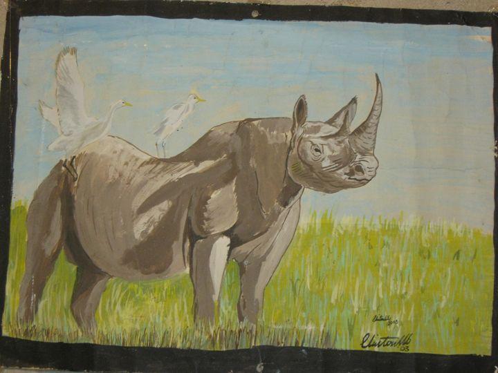 White Rhino - Clinton