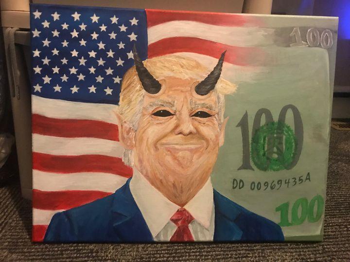 Corruption - Rania's art