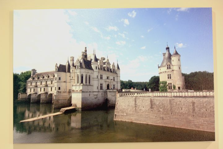 Chateau of France 20x30 inch Canvas - joshmatix