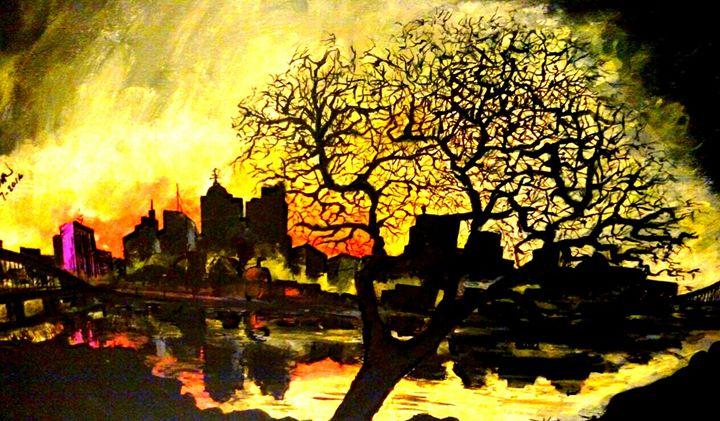 Lone tree - Circle @ Arts