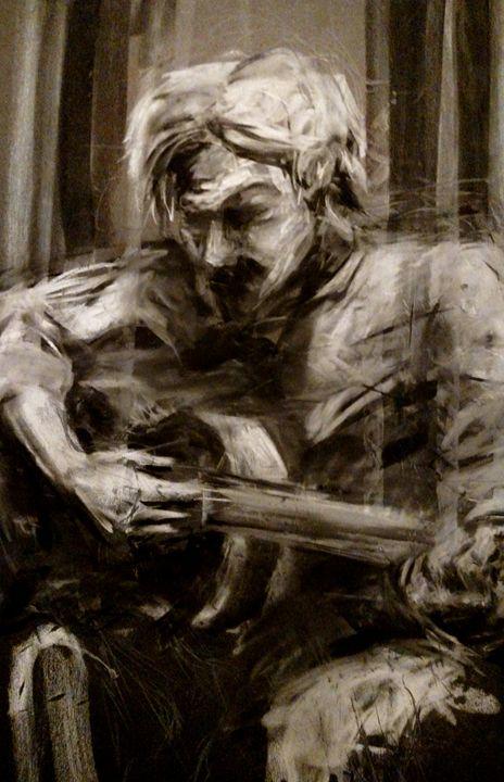 Singer strums - Circle @ Arts