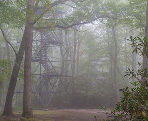 Fire Tower in the Clouds No2