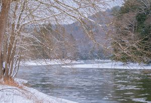 Clarion River in January No1