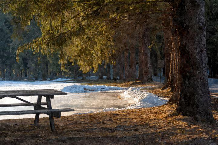 Cook Forest Skating Pond (WC) - StephenJSepan