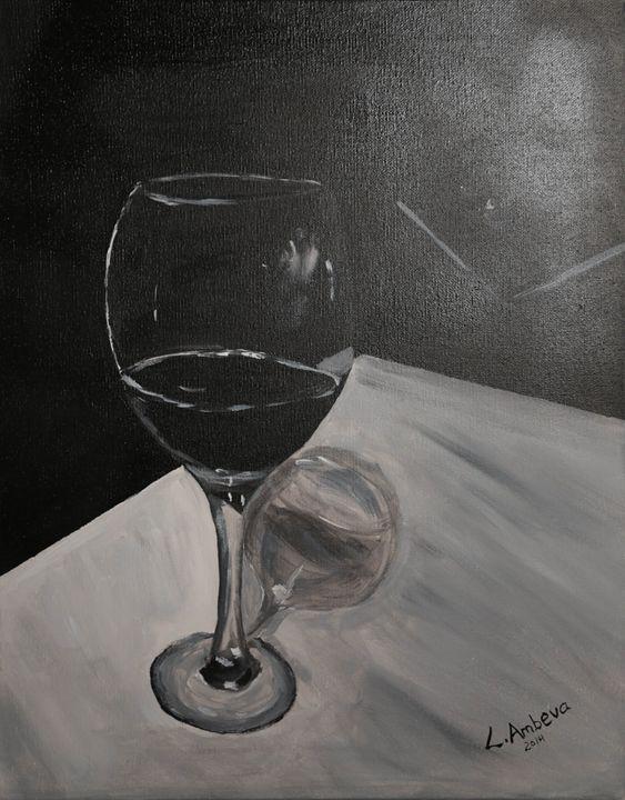 Wine and Jazz - Linda Ambeva Fine Art