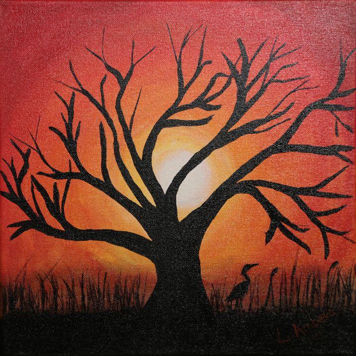Branching out - Linda Ambeva Fine Art