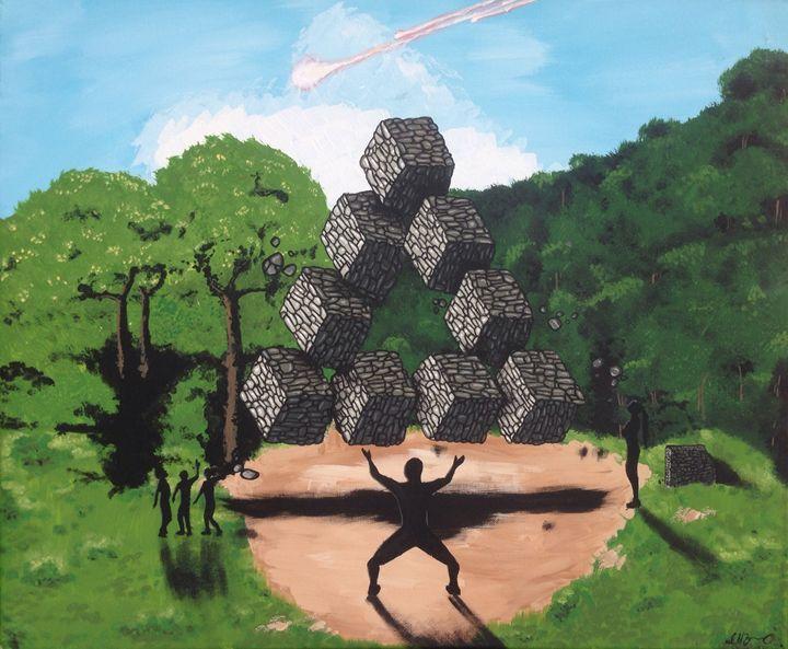 Building blocks - Zambrano Art