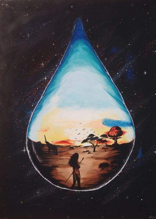 Drop of life - Zambrano Art