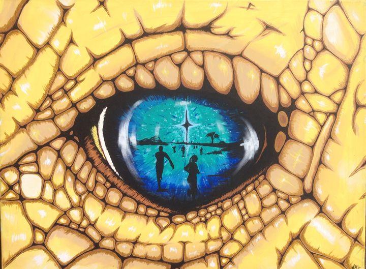 Golden fears - Zambrano Art
