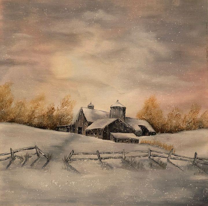 Winter Farm - Diana Renkel