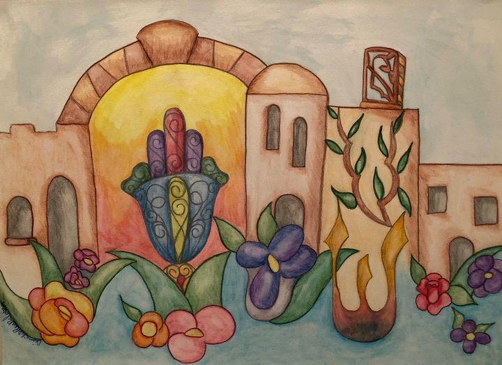 Hamsa of Jerusalem - Diana Renkel